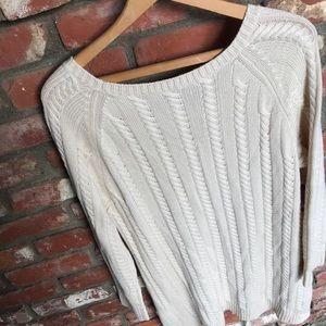 J Jill cable knit sweater tunic